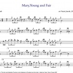 """Small Tunes: """"Mary, Young and Fair"""""""