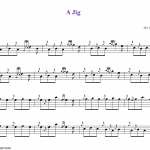 """Small Tunes: """"A Jig"""""""