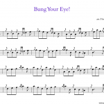 "Small Tunes: ""Bung Your Eye!"""