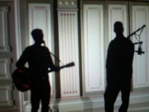 Bryan Adams and Andrew Douglas Shadow Pic